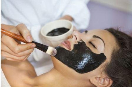 Желатиновая черная маска для лица
