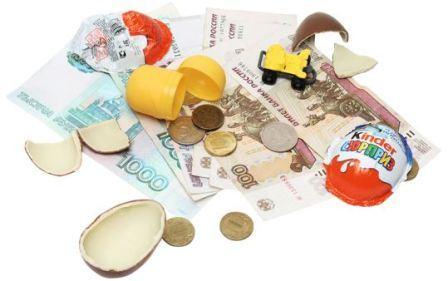 Сколько давать ребенку карманных денег