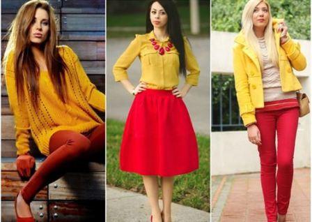 Одежда по цветам по дням недели