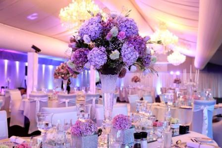 Оформление свадьбы в цвете