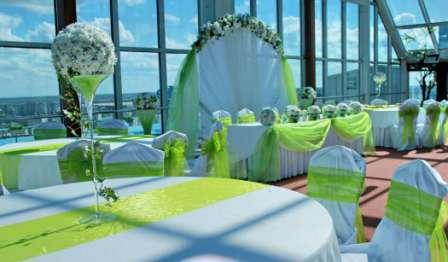 Свадьба в зеленом цвете оформление