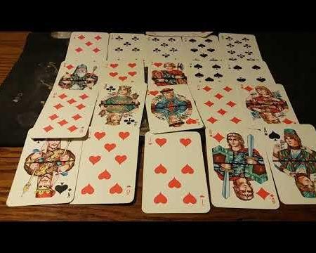 Гадание на картах игральных 36 на любовь
