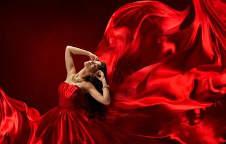 Красный цвет: характер