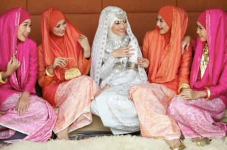 Мусульманские платья на свадьбу