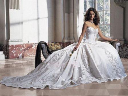 Стили свадебных платьев 2019