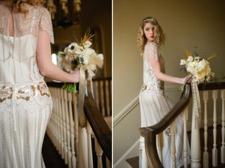 Свадебное платье в стиле Арт-Деко
