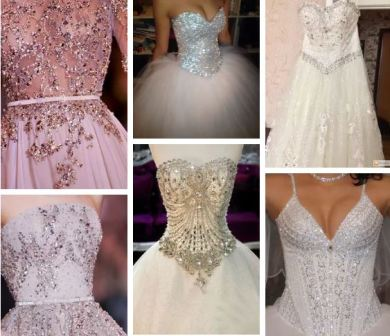 Стили свадебных платьев: новинки