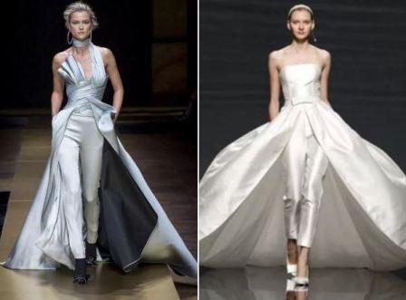 Свадебные платья короткие необычные