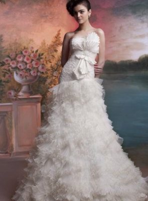 Стиль свадебного платья