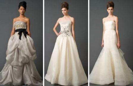 Организация свадьбы: платье для невесты