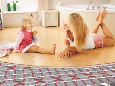 Теплый пол – комфорт в вашем доме