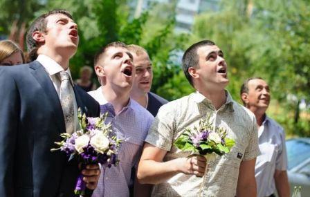 Сценарий выкупа невесты Вступительные экзамены