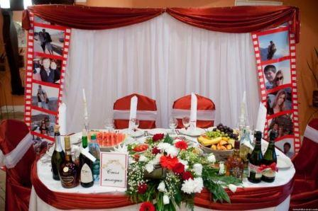 Организация свадьбы в стиле кино
