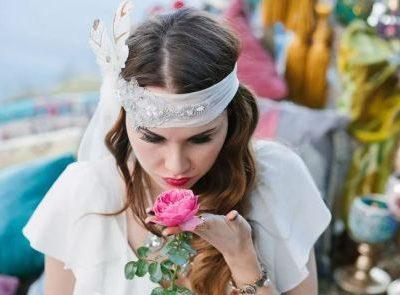 Свадебная церемония в бохо-стиле, организованная на теплоходе или яхте