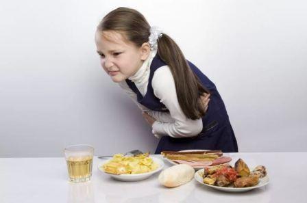 Причины пищевых отравлений у детей, лечение