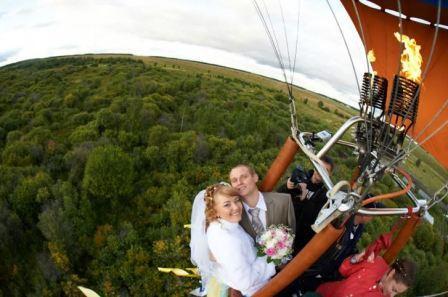 В семейную жизнь на воздушном шаре