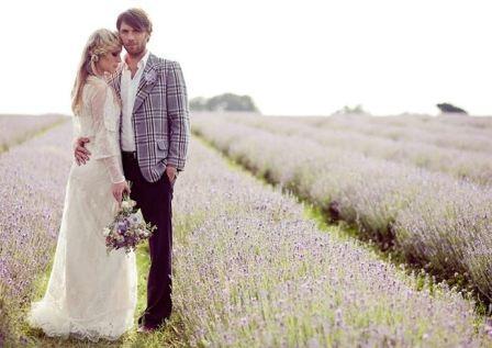 Французская свадьба в стиле Прованс