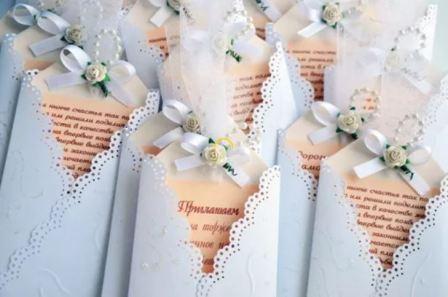 Самые оригинальные приглашения на свадьбу своими руками