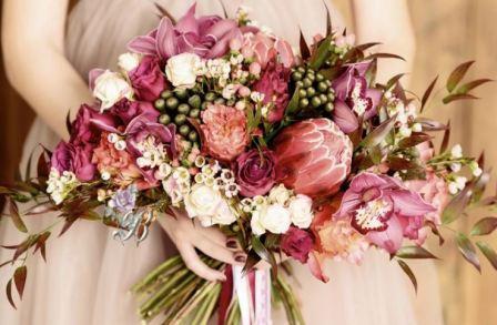 Свадебная флористика: выбор цветов на свадьбу для букета невесты и декора
