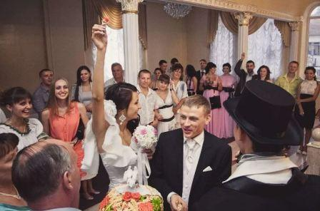 Современные конкурсы на свадебное торжество