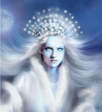 Зимние магические обряды, связанные с богиней зимы