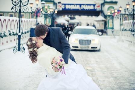 Тематическая свадьба зимой: зимнее свадебное волшебство