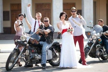 Тематическая свадьба: рок-н-ролл всегда жив