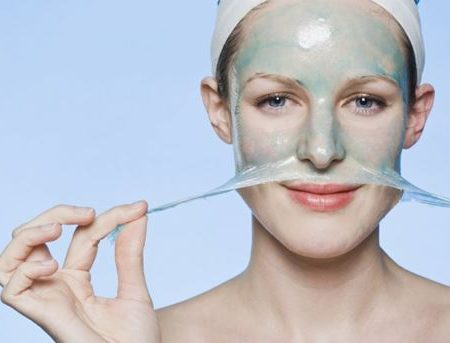 Как делать желатиновые маски для лица