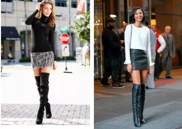 Как подобрать обувь по длине юбки
