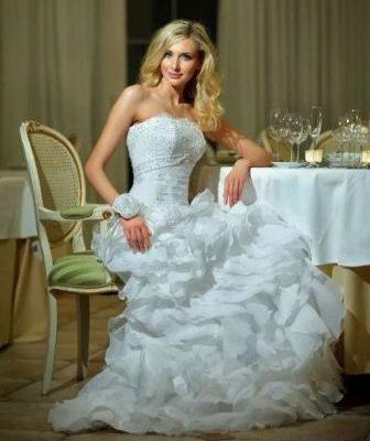 Звибел – стиль свадебного платья, дающий свободу